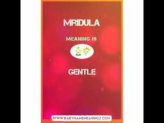 Mridula Name Meaning