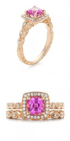 Thirteen Must See Engagement Rings See more here: http://www.weddingchicks.com/stunning-custom-ring-styles-joseph-jewelry/