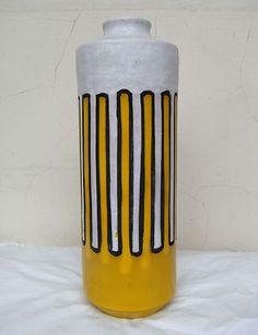 Bitossi Aldo Londi big Greca Vase Italy Original 50s Raymor   eBay