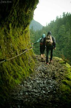 Eagle creek trail, Pacific Northwest