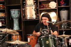 Vinny Appice Rocks Master Drum Class January 2014 #vinnyappice #master #class