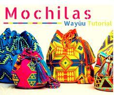 Risultati immagini per wayuu bag Wiggly Crochet, Tunisian Crochet, Crochet Yarn, Crotchet Bags, Knitted Bags, Mochila Crochet, Crochet Bracelet, Tapestry Crochet, Crochet Purses