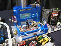 MOC LEGO Display BBtB 2011 | Flickr - Photo Sharing!