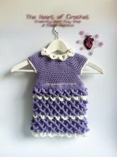 Nuovi arrivi: vestitino bimba originalissimo! ~ The Heart of Crochet
