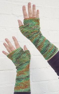 Fancy Sock Yarn Fingerless Gloves | AllFreeKnitting.com Fingerless Gloves Knitted, Crochet Gloves, Knit Mittens, Knitted Hats, Knitting Accessories, Winter Accessories, Wrist Warmers, Hand Warmers, Knitting Patterns Free
