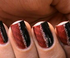 Nail Art ... perfect for football season! @jill namanny