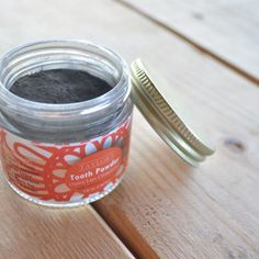 This is our zero waste tooth powder that is 100% natural and vegan! This paste heals, cleans, whitens, and protects your pearly whites!