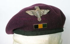 Military Beret, Military Life, British Army, British Royals, Parachute Regiment, Defence Force, Paratrooper, Bats, Marines