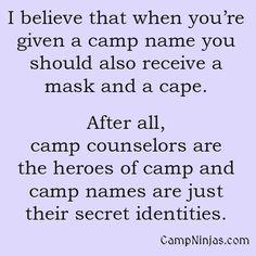 :) #camp #counselor