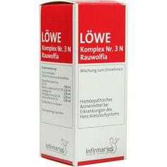 LOEWE KOMPLEX Nr. 3 N Rauwolfia Tropfen:   Packungsinhalt: 100 ml Tropfen PZN: 03068783 Hersteller: Infirmarius GmbH Preis: 13,93 EUR…
