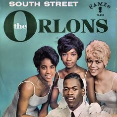 "The Orlons ""South Street"" (1963) 45 rpm Record Sleeve"
