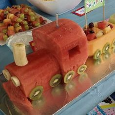 Great birthday 'cake' as a healthier alternative or for children with food sensitivities