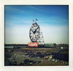 Jersey City, New Jersey, Garden State Plaza, Colgate Palmolive, City North, Our Town, Old Buildings, Polaroids, City Style