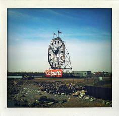 Colgate Clock. Jersey City, NJ