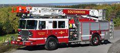 Seagrave 4x4 Ladder Truck