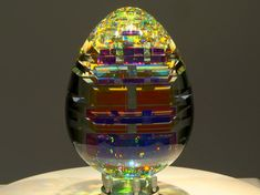 Artist Jack Storms creates some breathtaking Glass Artwork using Fibonacci Ratios.