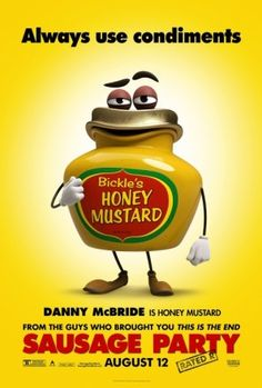 Sausage Party (2016), #poster, #mousepad, #tshirt #movieposters2