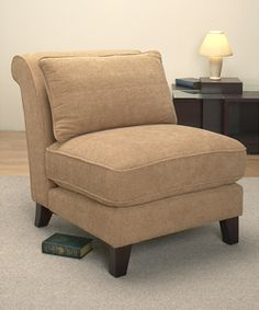 @Overstock - Slipper Bamboo Chair. Add an inviting touch of warmth to your room with this slipper bamboo chair. Its strong wooden frame, thick cushion, and gently curved back provide comfort that lasts, and its subtle, versatile hue allows it to mesh with many existing styles.http://www.overstock.com/Home-Garden/Slipper-Bamboo-Chair/2038863/product.html?CID=214117 $219.99