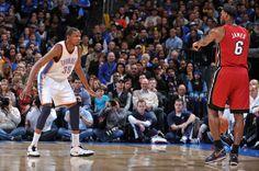 Kevin Durant vs LeBron James....battle for the MVP