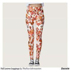 Fall Leaves Leggings