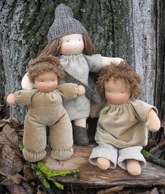Very sweet Waldorf dolls