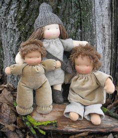 Very sweet Waldorf dolls