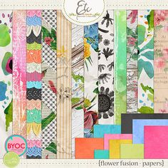 Flower Fusion Papers