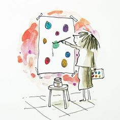 """The Dot"" written and illustrated by Peter Reynolds"