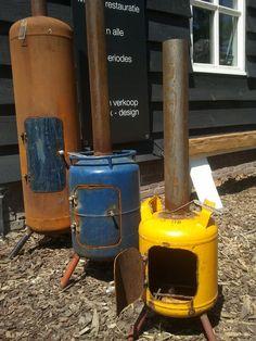 garden heater by atelier Van Asten at #Olmenhorst