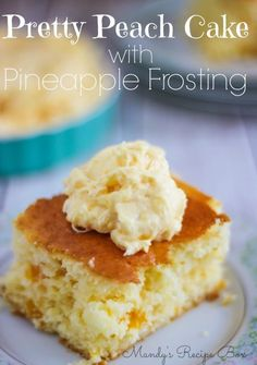 These Pineapple Bars are so light and full of crushed pineapple. Every bite will make your mouth happy.