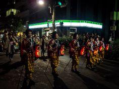 Asakusa/Torigoe Matsuri 11/13 The last day of the Torigoe Matsuri: tekomai geisha at the head of the procession featuring the sengan (3750 kg) omikoshi of the Torigoe Jinja shrine.  #Asakusa, #Torigoe, #matsuri, #omikoshi, Taken on June 8, 2014. © Grigoris A. Miliaresis