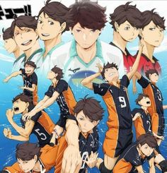 another new visual for haikyuu season 2 has been released!!!!!!!!