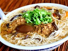 Taiwanese Datung Langyang, Rice Noodles Soup