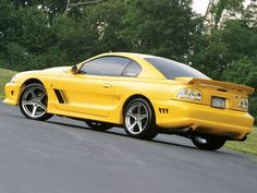 1995 Ford Mustang GT this is a saleen model. I like the rims but the car itself is out of my price point.