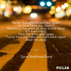 Dave Matthews Band - Stolen Away at 55th and 3rd