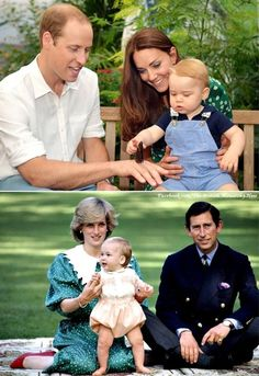 Diana & William and William & George Royal Prince, Prince And Princess, Princess Kate, Princess Of Wales, Princess Charlotte, Prince Harry, Duchess Kate, Duke And Duchess, Duchess Of Cambridge
