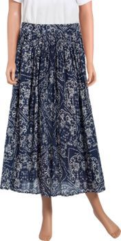 Bandana Broomstick Skirt