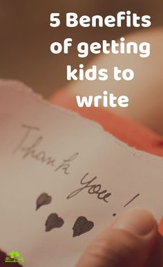 There are so many benefits of teaching children how to express themselves on paper, but one essential life lesson is to express gratitude and kindness. Have your child write a thank you to their favorite store clerk or teacher for helping them. Ask them who they would like to send a thank you to- you'll be surprised! Nurture their empathy and compassion through writing thank you's on a regular basis and bring joy to the life of others. Kids Writing, Start Writing, Writing Help, Memoir Writing, Writing Prompts, Teaching Activities, Learning Resources, Letter Of Gratitude, Spiritual Stories