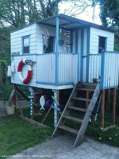 The Beach Hut is an entrant for Shed of the year 2012