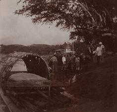 Embarque en la balsa en Girardot Cali, Japan Spring, Bbc News, Spring Time, History, Painting, World, Bogota Colombia, 19th Century