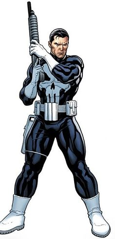 Punisher (Marvel Comics) with a shotgun                                                                                                                                                      More