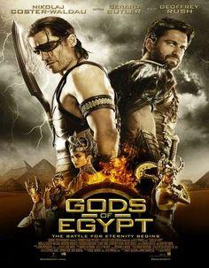 Poster Of Gods of Egypt 2016 Dual Audio 720p BRRip [Hindi - English] ESubs Free Download Watch Online Worldfree4u