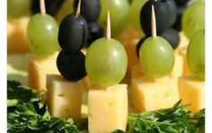 aperitivo original y sano el queso puedes poner el que mas te guste