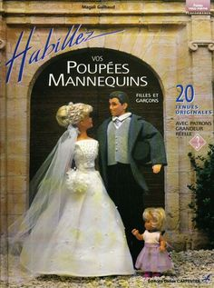 Herbie's Doll Sewing, Knitting & Crochet Pattern Collection: Livre Carpentier no. 3