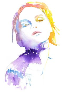 Watercolour Fashion Illustration, Fashion Illustration, Watercolor Fashion Print, Fashion Poster, Fashion Wall Art, Fashion Gift,