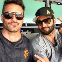 """Tyler Hoechlin: """"We can't agree on anything... @ianbohen"""""""
