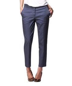 Cigarette Pants remind me of Audrey Hepburn.