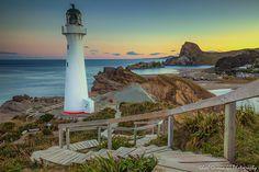 Castlepoint Light House of Wairarapa by neodelphi