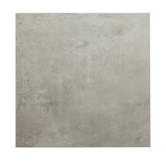 Carrelage sol et mur blanc gris effet ciment gatsby for Coupe plinthe carrelage a 45