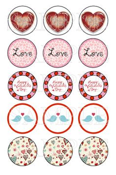 35 Best Love Valentine S Bottle Cap Images Images On Pinterest